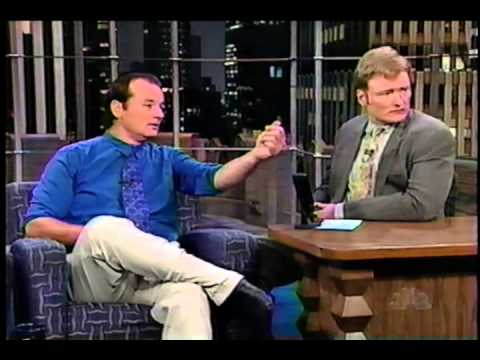 Bill Murray - Conan interviews Bill Murray on November 14, 1997. Bill promotes his new movie