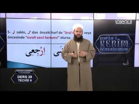 Kur'an-ı Kerim Öğreniyorum (Bölüm 28) Lâlegül TV