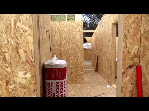 Holz Haus Construction - Holzrahmenhaus Rohbau mit Montage