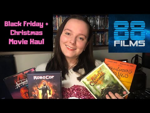 Blu-Ray Haul #4 - Christmas and Black Friday Pickups! Steelbooks, 88 Films & Arrow Video Box Sets