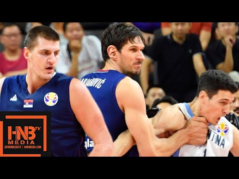 Serbia vs Argentina - Full Game Highlights | FIBA World Cup 2019