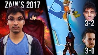 Zain's Greatest Combos & Plays of 2017 | Melee