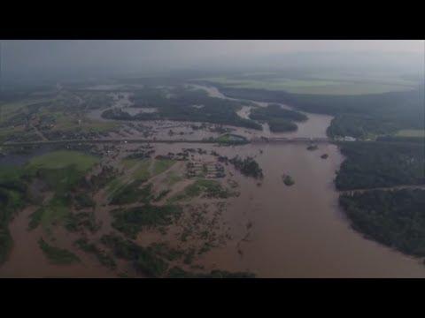Russland: Jahrhundert-Hochwasser in Sibirien - mindest ...