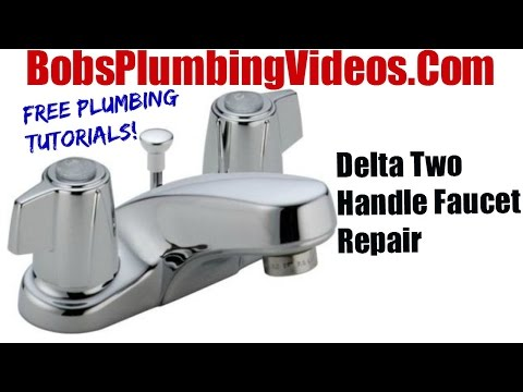 How To Replace Delta Style Stems and Seats – Cartridge Faucet Repair