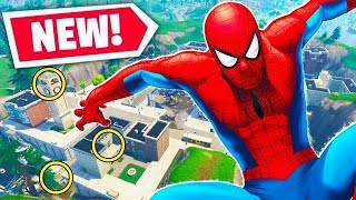 SPIDERMAN PARKOUR CHALLENGE  in Fortnite CREATIVE MODE! - Fortnite Battle Royale