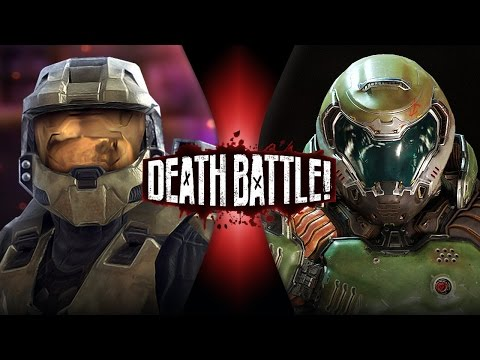 DEATH BATTLE! - Master Chief VS Doomguy Video