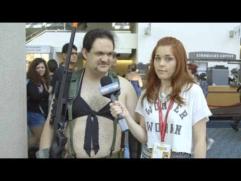 cosplay - Comic Con 2014 Cosplay: When Things Get Weird Subscribe Now! ▻ http://bit.ly/SubClevverMovies We talk to some cosplayers and look at the weirder side of 2014 San Diego Comic Con. For More...