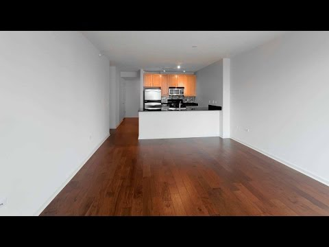 A Fulton River District skyline-view 1-bedroom at Echelon