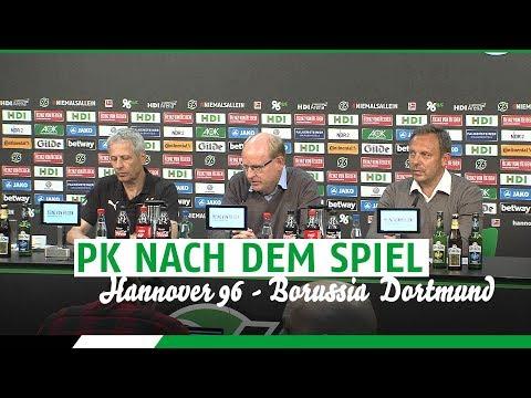PK nach dem Spiel | Hannover 96 - Borussia Dortmund