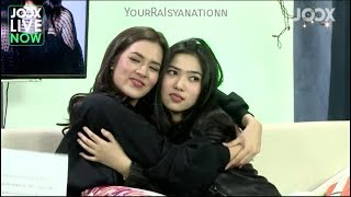 Video Tanya Jawab Raisa & Isyana at JOOX Live Now MP3, 3GP, MP4, WEBM, AVI, FLV Oktober 2017