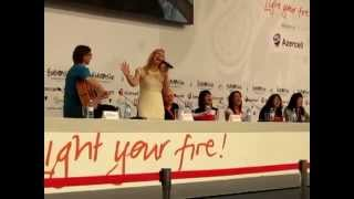 Anmary Sings A Azerbaijani Turkish Folk Song - Sari Gelin