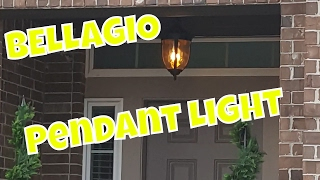 "Bellagio™ Collection 18"" High Outdoor Hanging Light"