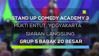 Video Stand Up Comedy Academy 3 : Mukti Entut, Yogyakarta - Siaran Langsung MP3, 3GP, MP4, WEBM, AVI, FLV November 2017