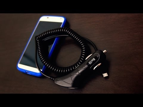Pantech Renue Micro USB Car Charger