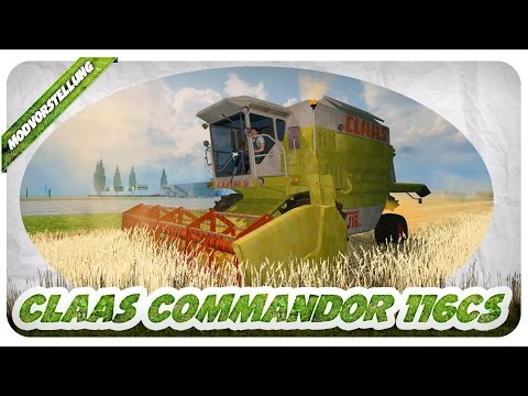 CLAAS COMMANDOR 116cs v2.0