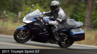 2. MotoUSA 2011 Triumph Sprint GT Sport Touring Video