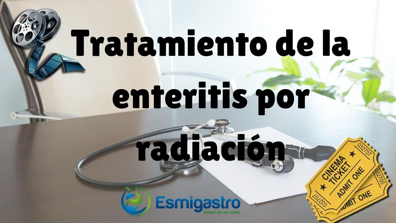 Tratamiento de la enteritis por radiación