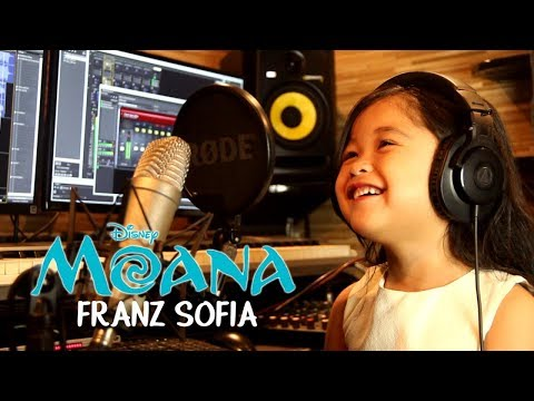 How Far I'll Go - Disney Moana (Franz Sofia at 4 Yrs Old)