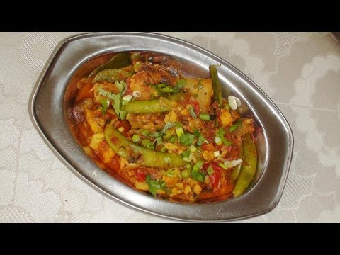 Mixed vegetable subzi / Curry with Seasonal vegetables – Video Recipe