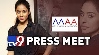 Video MAA Press Meet LIVE || Sri Reddy leaks || Tollywood Casting Couch MP3, 3GP, MP4, WEBM, AVI, FLV April 2018