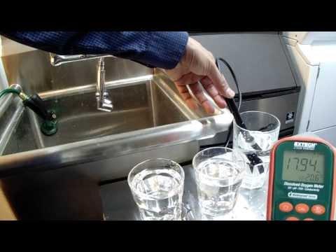 Ozonated Water Benefits Waste Water Dissolved Ozone Oxygenates Water