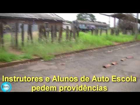 Jales - Instrutores de Auto Escolas e alunos pedem providências à Prefeitura em local de exames de Habilitação.