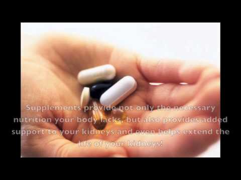 Natural Diet And Supplement Plan To Increase Kidney Function