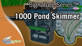 Aquascape Signature Series™ 1000 Pond Skimmer