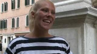 """In Venedig wird erstmals eine Frau als Gondoliere ausgebildet. """"Es war mein sehnlichster Wunsch, seit ich ganz klein war"""", sagt..."""