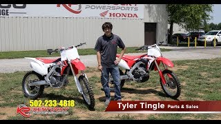 3. Honda CRF250R 2017 vs 2018