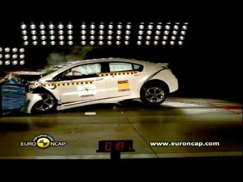 le crash test de l 39 opel ampera 5 toiles euro ncap voiture electrique. Black Bedroom Furniture Sets. Home Design Ideas