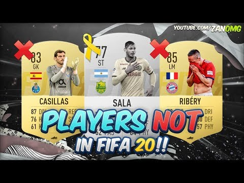 PLAYERS THAT WON'T BE IN FIFA 20!!