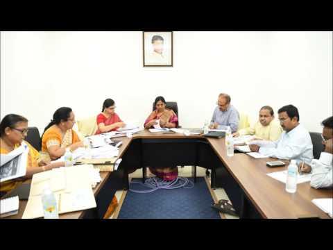 Paritala Sunitha Review Meeting onAnganwadi Center
