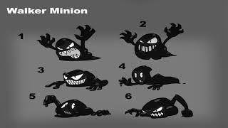 Bendy In Nightmare Run | Enemy concept art