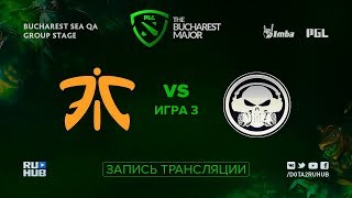 Fnatic vs Execration, PGL Major SEA, game 3 [Mortalles, CrystalMay]
