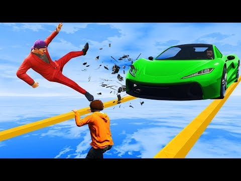 Can You Complete The PRECISION CHALLENGE?! - GTA 5 Funny Moments
