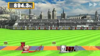 SSB4 WiiU: Shulk Home-Run Contest