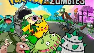 Pokemon VS Zombies Gameplay