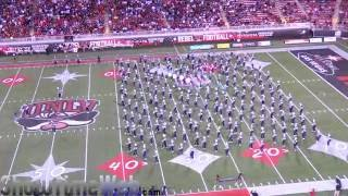 JSU Halftime Perfomance @ UNLV 2016 - Jackson State Marching Band and Prancing J-Settes Perfomance