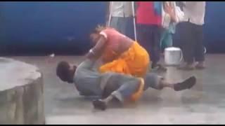 XxX Hot Indian SeX Dangal At Railway Station Aunty Ne Uncle Ko Utha K Patka .3gp mp4 Tamil Video