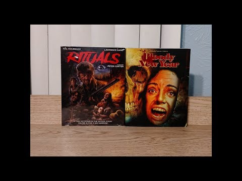 Bloody New Year & Rituals Blu-Ray Unboxing - Vinegar Syndrome / Scorpion Releasing
