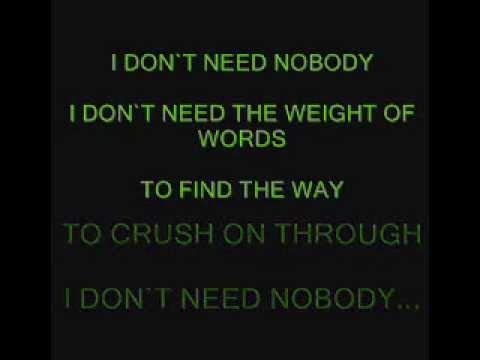 collective soul needs with lyrics