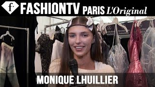 Monique Lhuillier Spring/Summer 2015 Backstage | MB New York Fashion Week | FashionTV