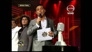 Christian Bernales demostró su gran calidad como imitador y cantante desde un principio. Él se enfrentó a ganadores de otras temporadas.