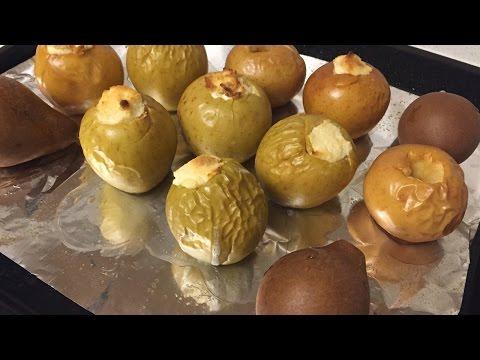 Рецепт запеченных яблок в духовке рецепт