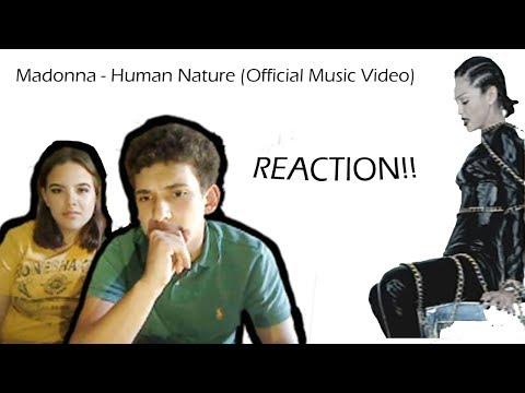 Madonna - Human Nature (OFFICIAL MUSIC VIDEO)   REACTION