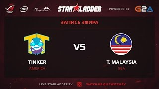 TTinker vs Malaysia, game 3