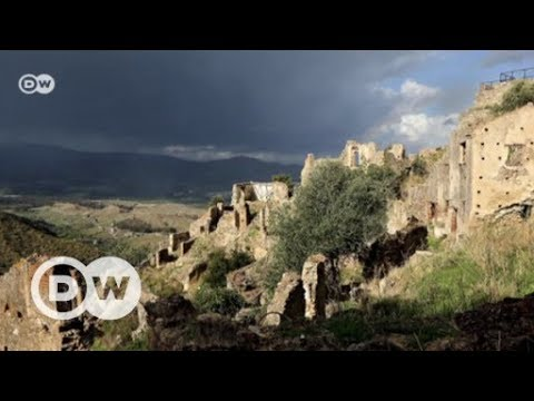 Verlassene italienische Dörfer: Zu Besuch im Geisterdor ...