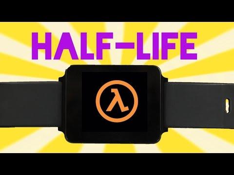 Это всего лишь игра Half-Life, запущенная на часах
