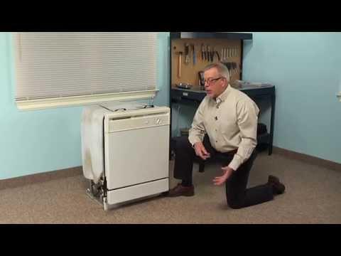Dishwasher Repair – Replacing the Impeller Kit (Whirlpool Part # 4386996)
